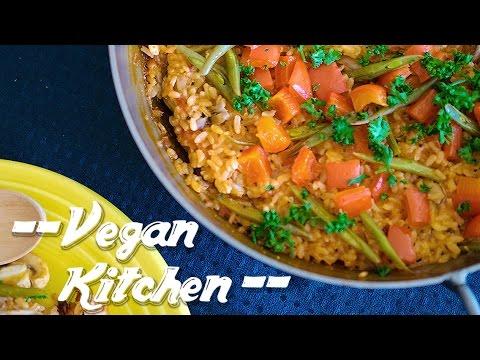 サフランを使わずにトマトで作る簡単野菜のパエリア!!:How to make Paella | Vegan Kitchen with ayano hayasaki