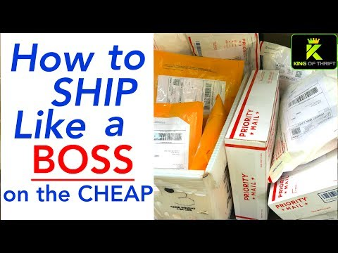 HOW TO SHIP ON EBAY FOR BEGINNERS. Shipping on eBay on a Budget. EBay shipping on the CHEAP