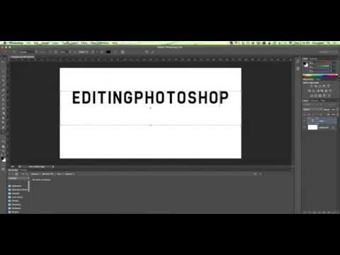 How to create arc text in Photoshop CS6
