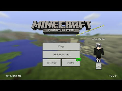 HOW TO GET MCPE SKIN & TEXTURE PACK FOR FREE (Minecraft PE v1.0.7) March 2017