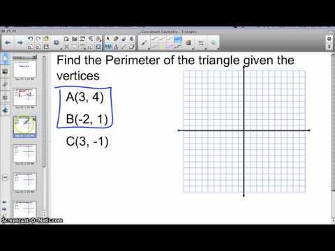 CoordinateGeometry - Triangles