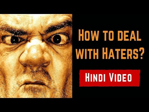 How to deal with Haters - Faadu Hindi Motivational Video
