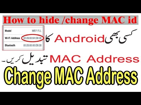 how to change wifi mac address in android without root