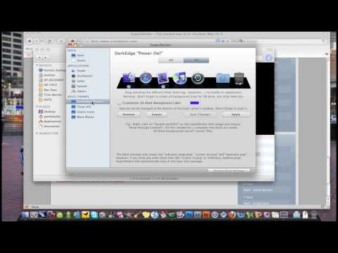 Mac HowTo: Change dock colour