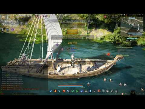 AFK Maxxing Fishing for Relic Shards in Black Desert Online AFK silver making