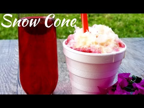 Trinidad Snow Cone Recipe - Episode190