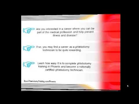 Phlebotomy Training In Phoenix | AZ Phlebotomist Certification