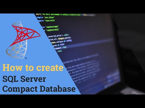 How to create SQL Server Compact Database using SQL Server 2008 R2