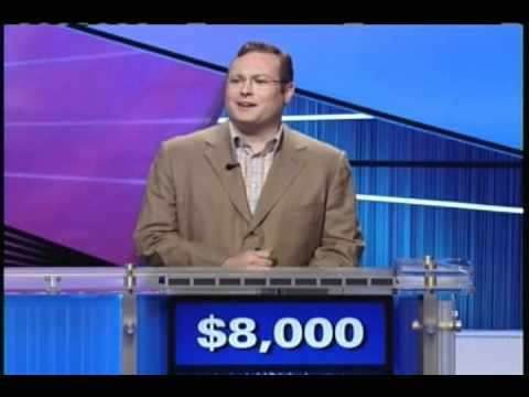 Funny Jeopardy Cotestant Keeps Messing Up Answer