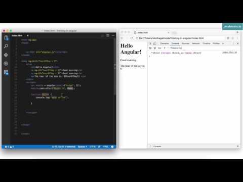 Thinking in Angular1 17 - Creating and Using Angular Modules