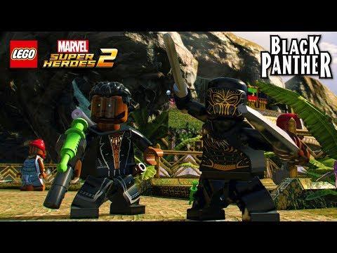 LEGO Marvel Super Heroes 2 Erik Killmonger (Black Panther Movie) Free Roam Gameplay