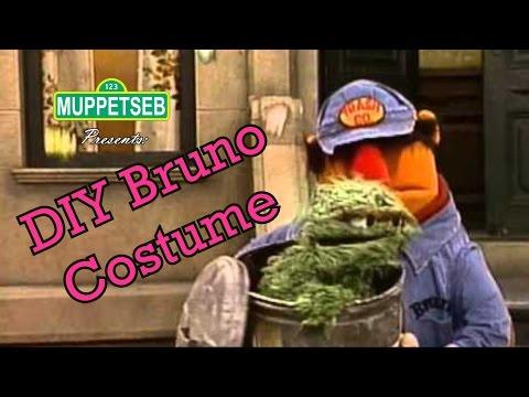 DIY Sesame Street Bruno Costume