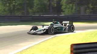 IndyCar Dallara 2009 at Monza in iRacing