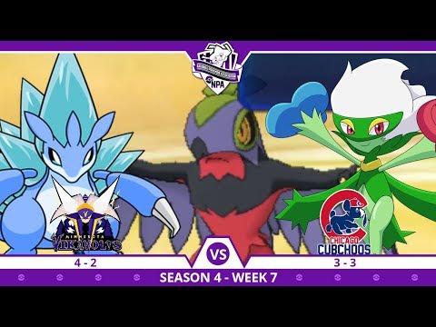 KOKO LUCHA ISN'T FAIR! | Minnesota Vikavolts VS Chicago Cubchoos NPA S4 W7  | Pokemon Ultra S/M