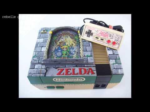 video game console custom nintendo zelda castlevania mario playstation snes nes