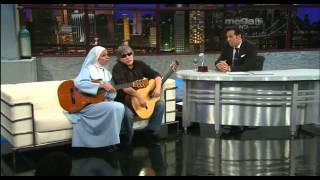 La monja Sordina y José Feliciano en un show lleno de humor, por ENTN