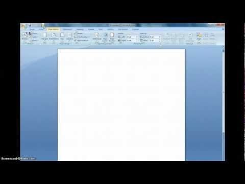 How to Minimize the Ribbon in Microsoft Word.