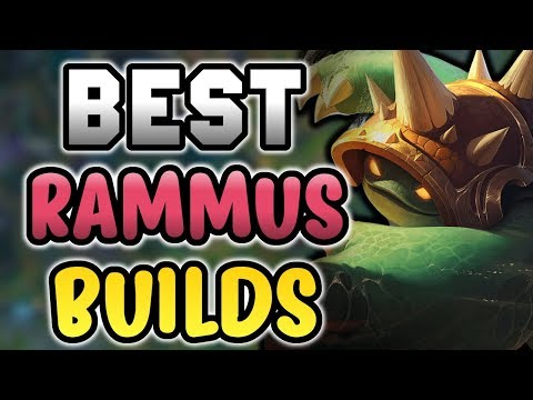Best Rammus BUILDS & RUNES for CARRYING! - Preseason and Season 8 (League of Legends)