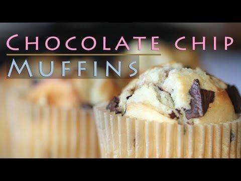 Easy Chocolate Chip Muffins Recipe 초콜릿 머핀 만들기