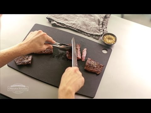How to Slice a Skirt Steak