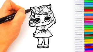 Disegni Da Colorare Lol Surprise Videos 9tubetv