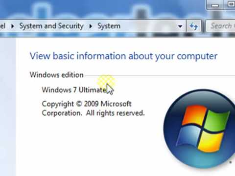 Windows 7, How-To Find your CPU, RAM, Video Card and other System Specs