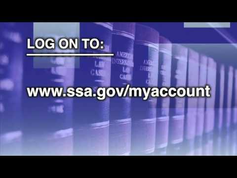 Online SSA Account