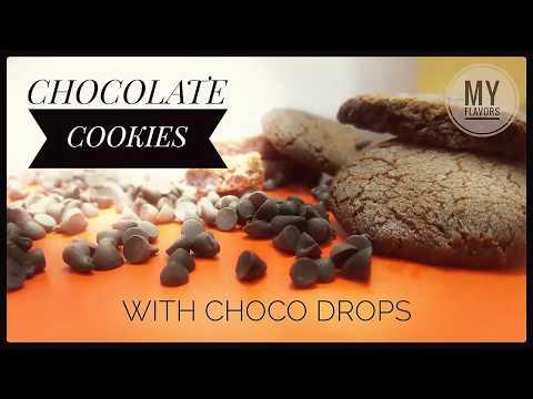 Chocolate Cookies Recipe Eggless-Hindi/Tea time recipe/kids recipe/eggless cookies/biscuit recipe