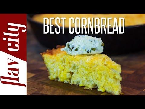 The Best Cornbread Recipe - Skillet Cornbread