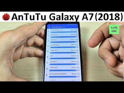 Samsung Galaxy A7 (2018) - AnTuTu BenchMark (Test Results & Ranking)