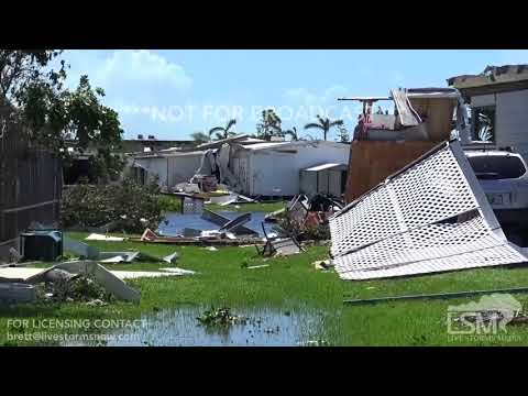 09-11-17 Naples, FL - Homes destroyed by Hurricane Irma Pt 1