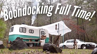 Boondocking Essentials | Full Time (FREE) Camping Off Grid!