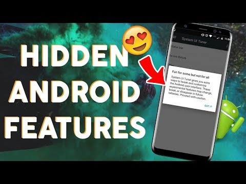 unknown feature of android-developer option