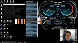 How To increase mining efficiency by Overclock & Undervolt 1070 Ti