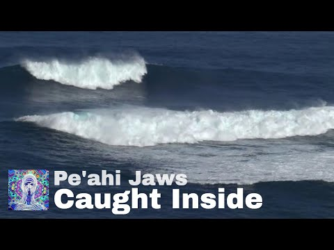 Caught Inside Pe'ahi (Jaws) Maui