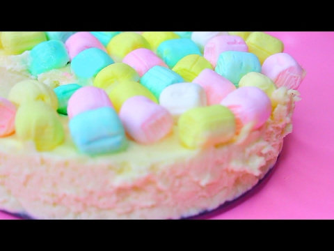 DIY Colorful Fluffy Pie For Easter