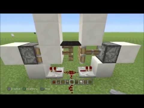 Minecraft Xbox 360/ PS3 - Invisible Door Glitch TU14 (Invisible Door in Minecraft PS4 and Xbox One)