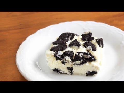 No Bake Oreo Icebox Cake | 6 ingredients