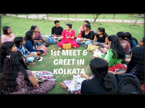 1st Meet & Greet in kolkata vlog#23/ INDIANGIRLCHANNEL TRISHA