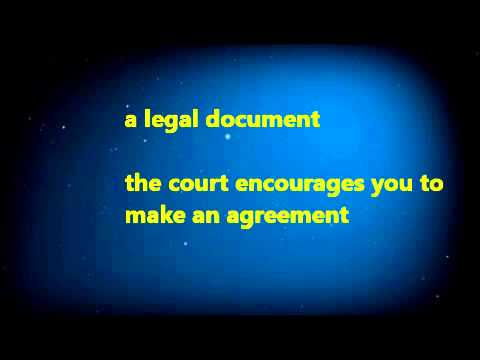 Free separation agreement to resolve legal issues without lawyers