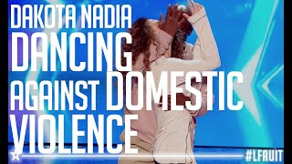 Dakota & Nadia Performed An Amazing Dance Against Domestic Violence | France