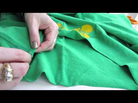 Alter the Collar on a Shirt - Sew a Whip Stitch