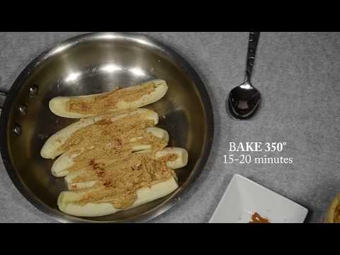 The Everyday Chef: Baked Nut Butter Bananas