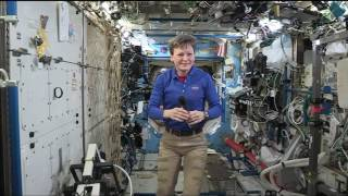 Space Station Crew Member Discusses Life in Space with Network Outlets