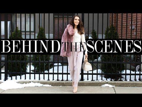 BEHIND THE SCENES OF VIDEO/PHOTO SHOOT & WEEKEND VLOG