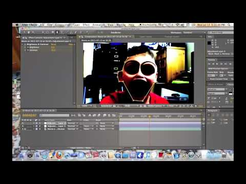 how to make the demon face on adobe After Effects CS5 MAC and PC (READ DESCRIPTION)