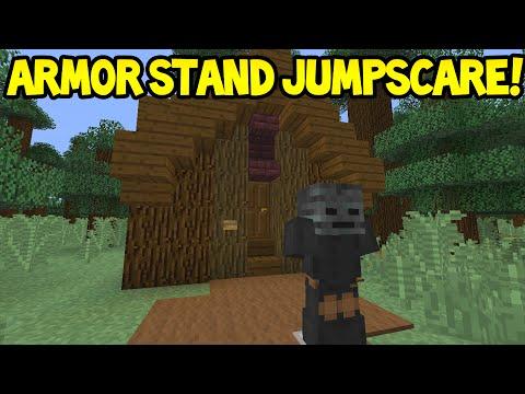 Minecraft (Xbox360/PS3) - TU31 Update! - ARMORSTAND JUMPSCARE! - Easy Tutorial
