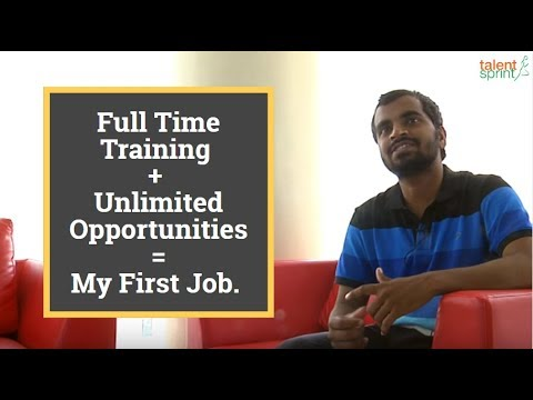 #MyStory - Full Time Training + Unlimited Opportunities = My First Job.
