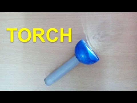 How to Make flash light Torch