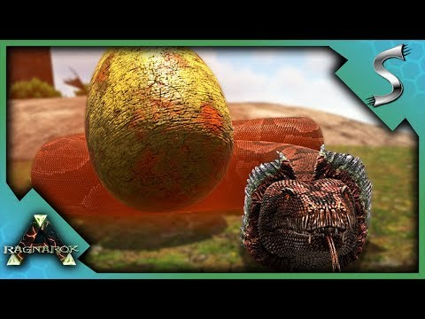 ARK TITANOBOA TAMING! HOW TO TAME AND CAN THEY BREED? - Ark: RAGNAROK [DLC Gameplay E41]